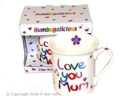 Love You Mum Humbugalicious Bone China Mug by Leonardo