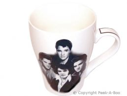 Classic Elvis China Tulip Shaped Icon Mug by Leonardo