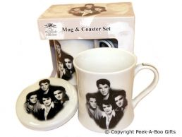 Classic Elvis Fine Bone China Icons Mug & Coaster Set by Leonardo