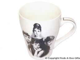 Audrey Hepburn Bone China Tulip Shaped Icons Mug by Leonardo