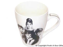 Audrey Hepburn Bone China Tulip Shaped Icons Mug by Leonardo