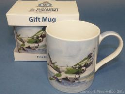 Bomber Command Mosquito Fine China Mug by Leonardo