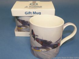 Bomber Command Hurricane Fine China Mug by Leonardo
