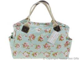 Martha Rose Retro Oilcloth Designer Tote Bag by Forever England