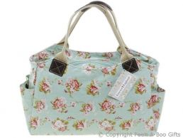 Martha Rose Retro Oilcloth Designer Tote Bag by Forever England
