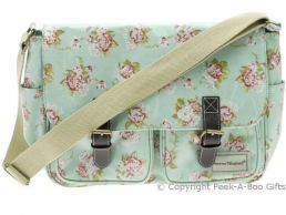 Martha Rose Retro Oilcloth Saddle Shoulder Bag by Forever England