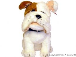 Churchill Bull Dog Soft Toy Door Stop