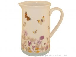 Leonardo Butterfly Meadow Collection Fine China Jug
