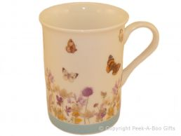 Leonardo Butterfly Meadow Collection Fine China Slim Mug