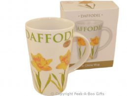 Leonardo Flower Garden Collection China Latte Mug Daffodil Design