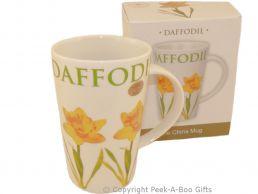 Leonardo Flower Garden Collection China Latte Mug Daffodil Design