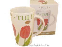Leonardo Flower Garden Collection China Latte Mug Tulip Design