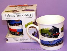 Classic Steam Train Bone China Boxed Mug by Leonardo