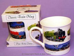 Classic Steam Train Bone China Boxed Mug by Leonardo