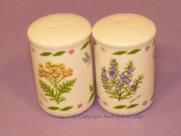 Leonardo Herb Garden Collection Fine Bone China Salt & Pepper Set