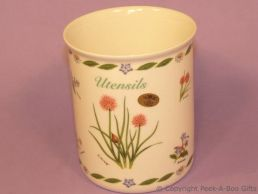 Leonardo Herb Garden Collection Fine China Utensil Jar