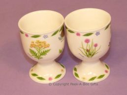 Leonardo Herb Garden Collection Fine Bone China Twin Eggcup Set