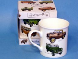 Classic Land Rover Bone China Boxed Mug by Leonardo
