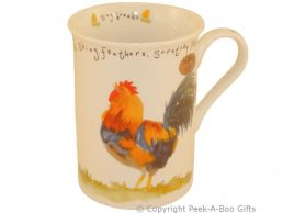 Leonardo Farmyard Collection Fine Bone China Slim Chicken Mug