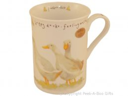 Leonardo Farmyard Collection Fine Bone China Slim Duck Mug
