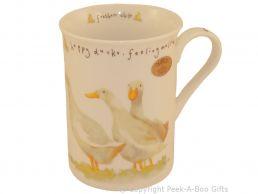 Leonardo Farmyard Collection Fine Bone China Slim Duck Mug