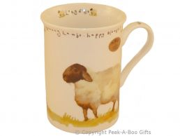 Leonardo Farmyard Collection Fine Bone China Slim Sheep Mug