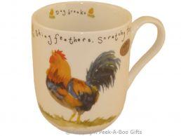 Leonardo Farmyard Collection Fine Bone China Royal Shaped Chicken Mug