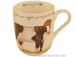 Leonardo Farmyard Collection Fine Bone China Royal Shaped Cow Mug