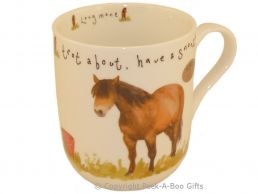 Leonardo Farmyard Collection Fine Bone China Royal Shaped Horse Mug