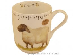 Leonardo Farmyard Collection Fine Bone China Royal Shaped Sheep Mug
