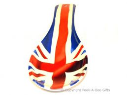 British Union Jack Flag Melamine Spoon Rest by Leonardo