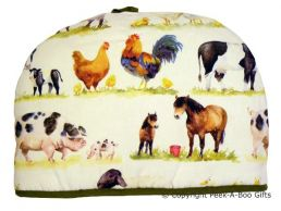 Leonardo Farmyard Collection Cotton Insulated Tea Cosy