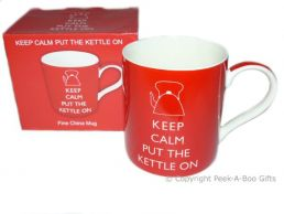 Keep Calm (& Carry On) Put the Kettle On Leonardo Fine Bone China