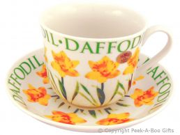 Leonardo Flower Garden Collection China Daffodil Jumbo Cup & Saucer