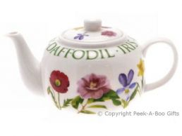 Leonardo Flower Garden Collection Fine China Teapot Traditional Shaped