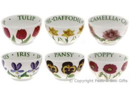 Leonardo Flower Garden Collection China Set of 6 Soup or Cereal Bowls