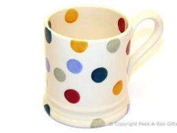 "Emma Bridgewater Polka Dot 1/2 Pint Mug - 3.6"""