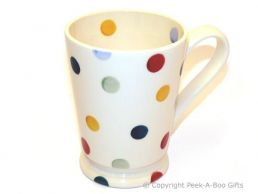 Emma Bridgewater Polka Dot Footed Cocoa Mug - 5""