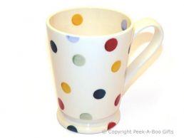 """Emma Bridgewater Polka Dot Footed Cocoa Mug - 5"""""""