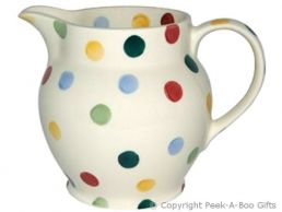 Emma Bridgewater Polka Dot 1/2 Pint Milk/Cream Jug