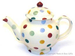 Emma Bridgewater Polka Dot 2 Cup Small Teapot - 18cm