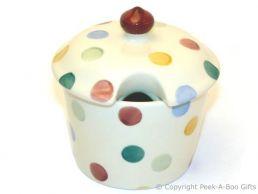 Emma Bridgewater Polka Dot Sugar Pot with Lid