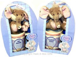 Valentine Mug & Hattie Elephant Soft Toy