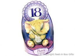 Hattie Elephant 18th Birthday Figurine