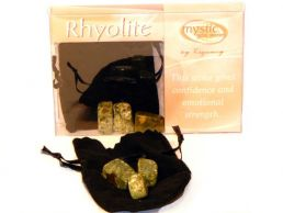 Rhyolite Mystic Gemstones- Gives Confidence & Emotional Strength