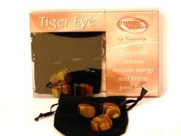 Tigers Eye Mystic Gemstones for Creative Energy & Good Luck