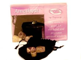 Amethyst Mystic Gemstones- Good For The Mind & Spiritual Wisdom