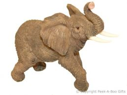 Elephant The Long Journey Figurine Small Sculpture by Regency