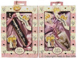 Cake Slice or Rolling Pin Wedding Keepsake Gift Set