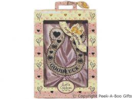 Lucky Wedding Horse Shoe Keepsake Gift Set